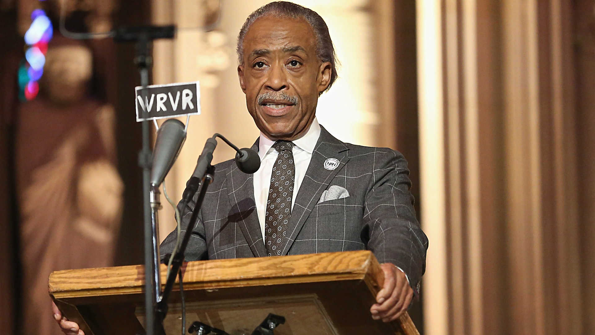 """Who is the white Al Sharpton?"""